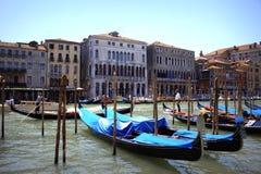 De Gondels Italië van Venetië royalty-vrije stock fotografie