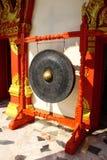 De gong van de overwinning en nu gebruikt in tempel Royalty-vrije Stock Afbeelding