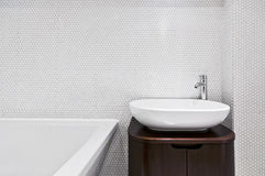 De gootsteen van de badkamers Royalty-vrije Stock Afbeeldingen