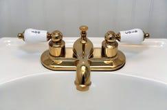 De gootsteen van de badkamers Royalty-vrije Stock Foto's