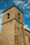 De gotische de blaasbalgtoren van San Martin Church in Trujillo stock afbeeldingen