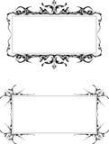 de gotische frames Royalty-vrije Stock Afbeeldingen
