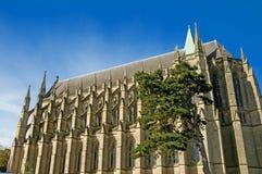 De gotische kapel royalty-vrije stock fotografie