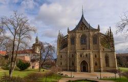 De Gotische kathedraal Royalty-vrije Stock Foto's