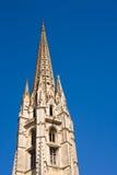 De gotische kathedraal van Bordeaux stock foto