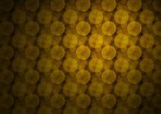 De gouden Achtergrond van Cirkels royalty-vrije illustratie