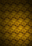 De gouden Achtergrond van Cirkels stock illustratie