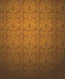 De gouden achtergrond van de luxe Stock Fotografie