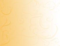 De gouden Achtergrond van de Werveling Royalty-vrije Stock Fotografie