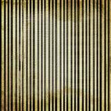 De gouden achtergrond van Grunge met gestreept. Royalty-vrije Stock Foto