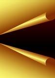 De gouden Achtergrond van het Document Stock Foto's