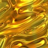 De Gouden Achtergrond van het metaal Stock Foto's