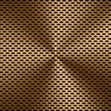 De gouden achtergrond van het metaalscherm Stock Foto