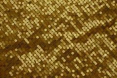 De gouden Achtergrond van het Netwerk van de Ring Stock Afbeelding