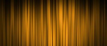 De gouden achtergrond van het stadiumgordijn Stock Afbeeldingen