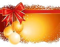 De gouden achtergrond van Kerstmis Royalty-vrije Stock Foto