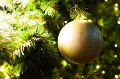 De gouden bal Stock Foto