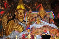 De gouden beelden van Boedha Royalty-vrije Stock Foto's