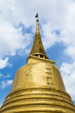 De Gouden Berg van Stupawat saket in Bangkok, Thailand Royalty-vrije Stock Afbeelding