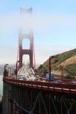 De gouden brug van de Poort Stock Foto