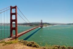 De gouden Brug van de Poort - San Francisco Stock Fotografie