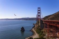 De gouden Brug van de Poort, San Francisco, Californië, de V Stock Afbeelding
