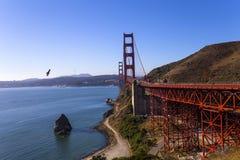 De gouden Brug van de Poort, San Francisco, Californië, de V Stock Foto's