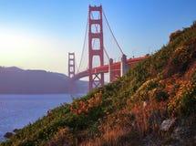 De gouden Brug van de Poort van San Francisco stock foto's