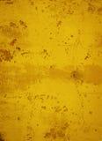 De gouden Concrete Abstracte Achtergrond van Grunge Royalty-vrije Stock Afbeeldingen