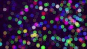 De gouden deeltjes voorzagen van een lus stock videobeelden