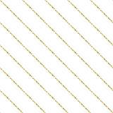 De gouden folie schittert het naadloze patroon van lijnstrepen royalty-vrije illustratie