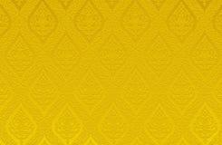 De gouden het patroon abstracte achtergrond van de kleurentextuur kan gebruik zijn als muurdocument pagina van de de brochuredekk Stock Fotografie