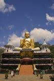 De gouden ingang van de Tempel van Boedha, Dambulla, Sri Lanka Royalty-vrije Stock Foto's