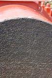 De gouden Kabel van de Brug van de Poort Royalty-vrije Stock Afbeelding