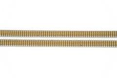 De gouden keten van Jewelery Royalty-vrije Stock Foto's