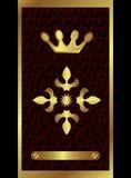 De Gouden Kroon van de chocolade Royalty-vrije Stock Foto's