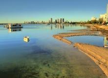 De Gouden Kust van Broadwater stock fotografie