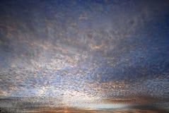 De Gouden Kust van de zonsondergang royalty-vrije stock foto