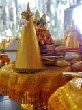 De gouden oblatie Royalty-vrije Stock Afbeeldingen