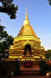 De gouden pagode Stock Foto's