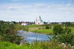 De gouden ring van Rusland Royalty-vrije Stock Afbeelding