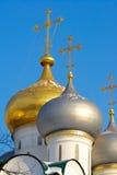 De gouden Russische winter Stock Foto