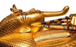 De gouden sarcofaag van Tutankhamun stock afbeelding