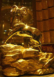 De gouden schapen van Macao Stock Fotografie