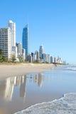 De gouden stad van de Kust, Australië Stock Foto