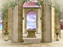De gouden tempel royalty-vrije illustratie
