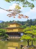 De Gouden Tempel van de Kinkakujitempel in Kyoto, Japan Stock Afbeelding