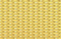 De gouden textuur van de poetsmiddelgolf Royalty-vrije Stock Foto's