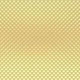 De gouden textuur van het piramidepatroon Stock Fotografie