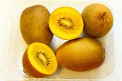 De gouden Vruchten van de Kiwi Stock Foto's